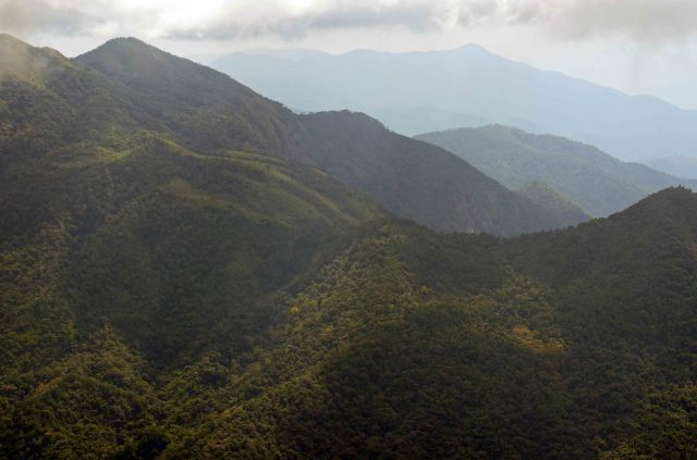 View from Doi Inthanon on The Kew Mae Pan Nature Trail