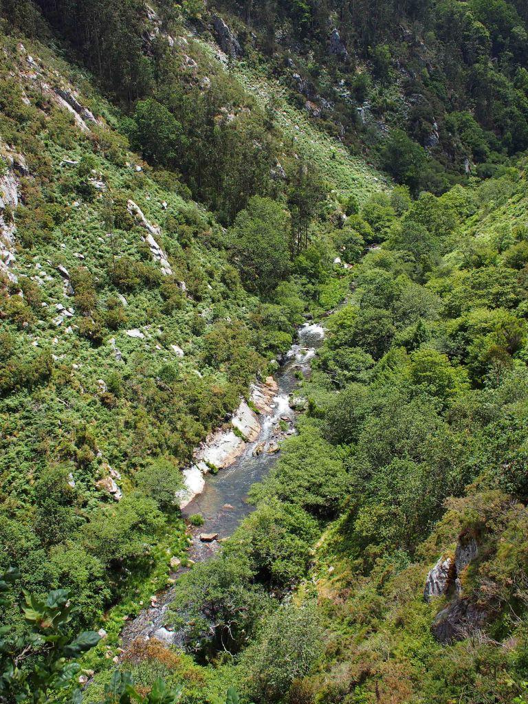 Rio Sor river from Mirador Agua Caida 1