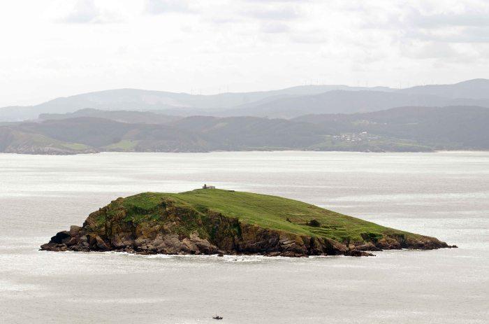 Illa Coelleria, Galicia, Spain