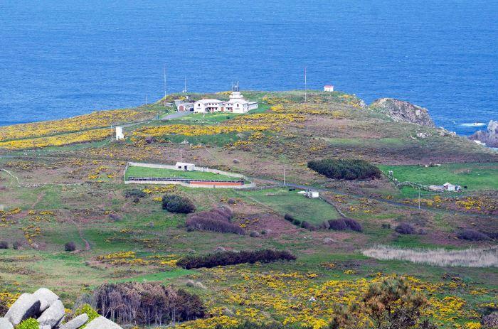 Lighthouse at Cabo Estaca de Bares, Galicia, Spain